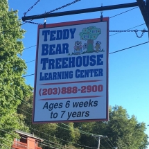 Teddy Sign