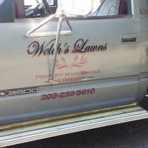 Welch Lawns Vehicle Vinyls