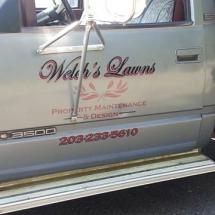 Welch Lawns Vehicle Vinyls